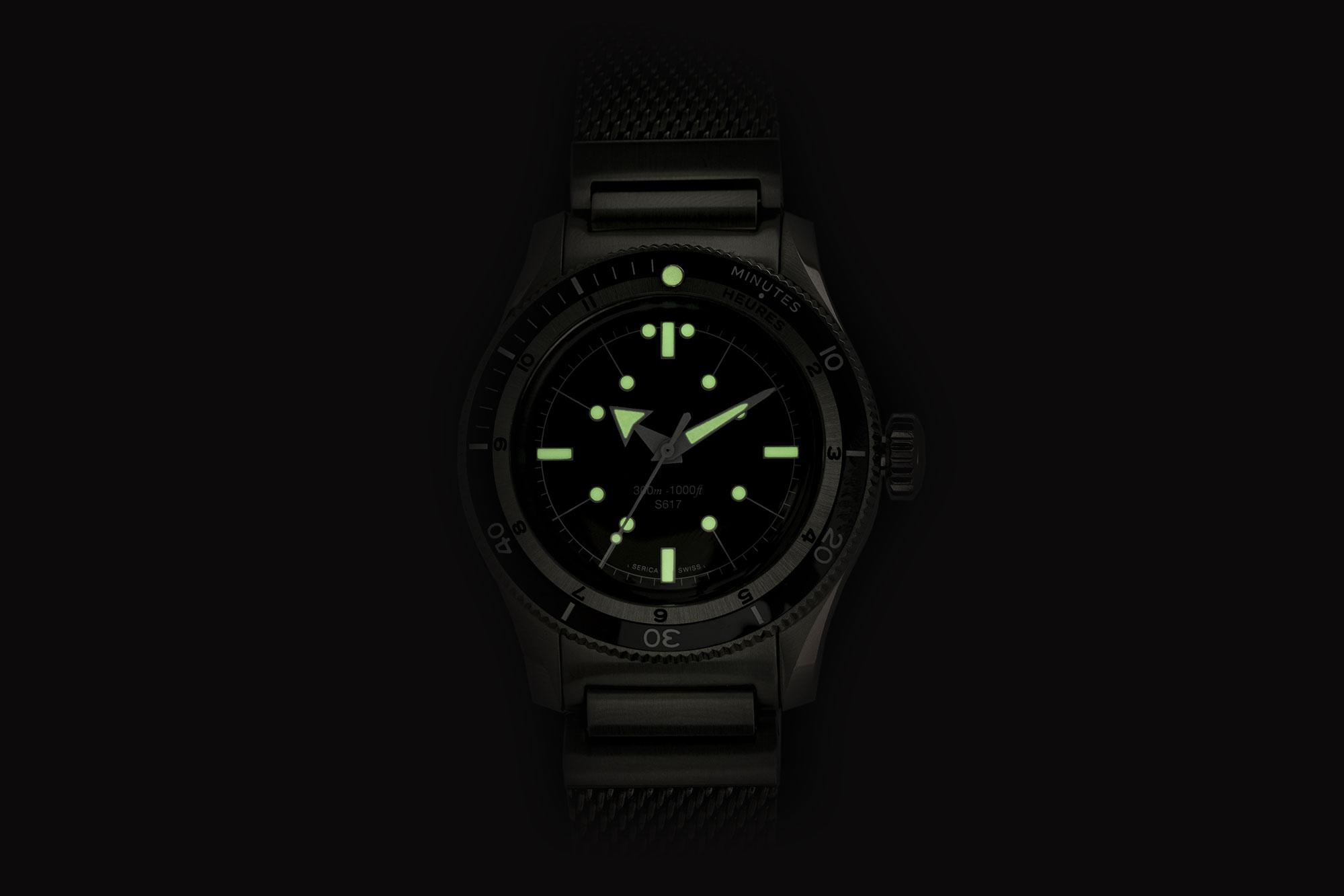Serica 5303-1 Black lumshot
